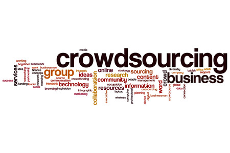 crowdsource: Crowdsourcing word cloud concept