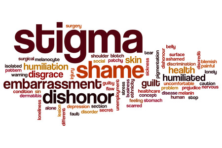 stigma: Stigma word cloud concept