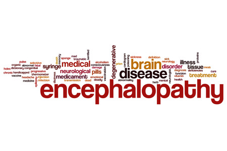 encephalopathy: Encephalopathy word cloud concept