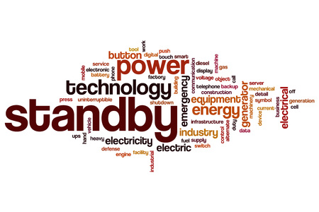 standby: Standby word cloud concept