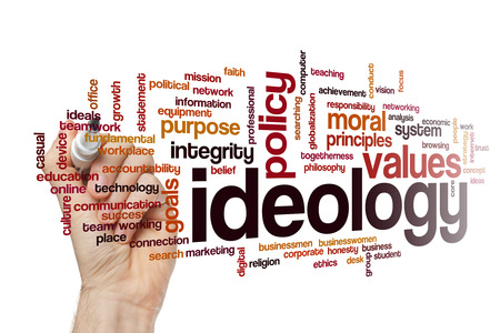 belief systems: Ideology word cloud