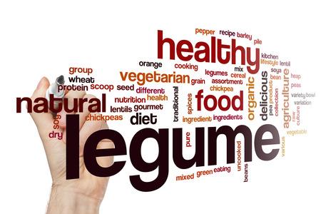 legume: Legume word cloud concept