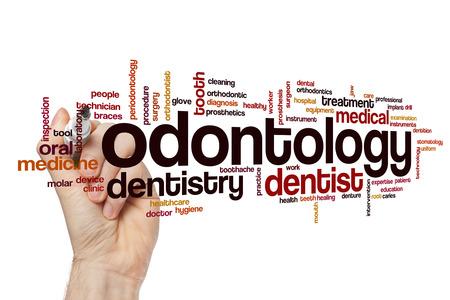 odontology: Odontology word cloud concept
