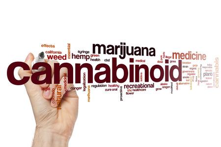 cannabinoid: Cannabinoid word cloud concept