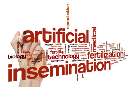 reproductive technology: Artificial insemination word cloud