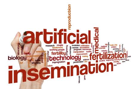 insemination: Artificial insemination word cloud