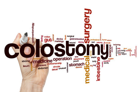 colostomy: Colostomy word cloud concept