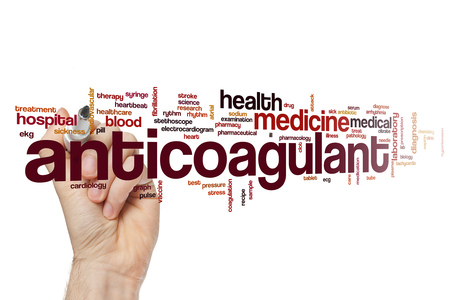 anticoagulant: Anticoagulant word cloud concept