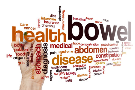 bowel: Bowel word cloud concept Stock Photo