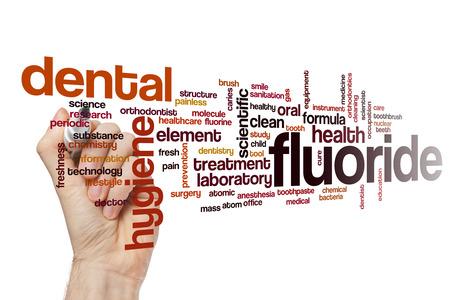 fluoride: Fluoride word cloud concept