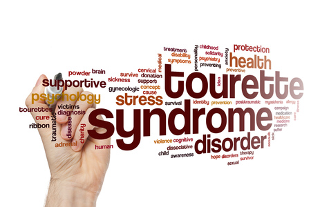 gynecologic: Tourette syndrome word cloud