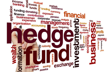 fund: Hedge fund word cloud concept
