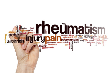 Rheumatism word cloud concept