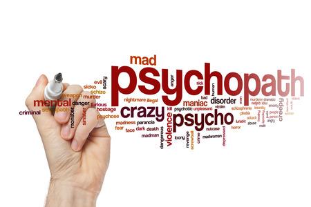 maniac: Psychopath word cloud