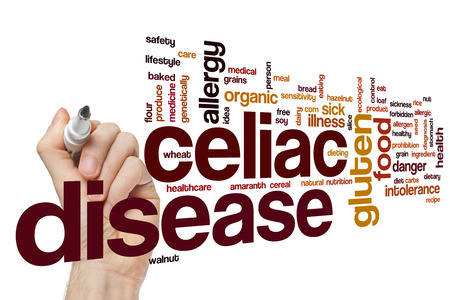 Celiac disease word cloud concept