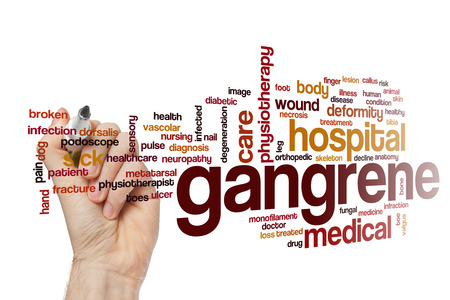 callus: Gangrene word cloud