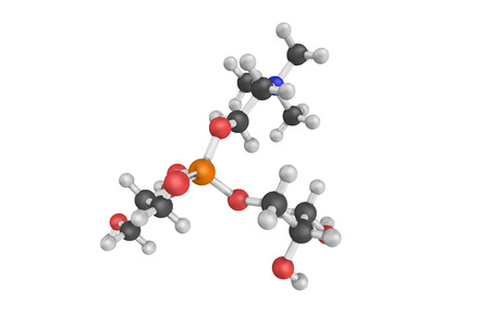 3d structure of Alpha-GCP, a natural choline compound found in the brain. May have potential for the treatment of Alzheimers disease and other dementias.