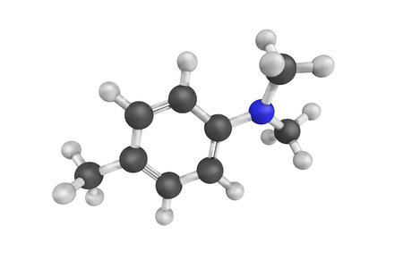 insoluble: 3d structure of N,n-dimethyl-p-toluidine, a clear colorless liquid with an aromatic odor. Insoluble in water. Toxic by skin absorption and inhalation. May release toxic vapors when burned.