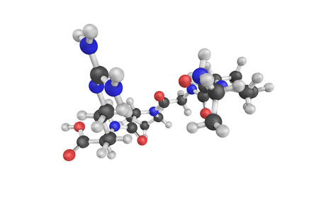 cofactor: 3d structure of Enterostatin, a pentapeptide derived from a proenzyme in the gastrointestinal tract called procolipase. It reduces food intake when given peripherally or into the brain.
