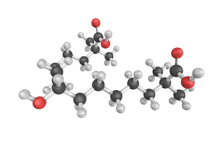 3d structure of bempedoic acid, an orally available, low-density lipoprotein cholesterol (LDL-C) lowering small molecule designed to lower elevated levels of LDL-C.
