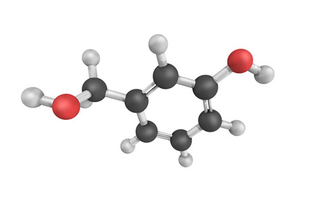 odour: 3d structure of Benzenemethanol, also known as phenethyl alcohol, a colourless liquid that is slightly soluble in water. It occurs widely in nature and has a pleasant floral odour.