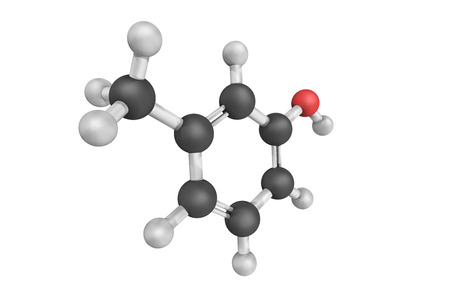 meta-Cresol, also known as 3-methylphenol, is a colourless, viscous liquid that is an intermediate in the production of other chemicals. It is a derivative of phenol.