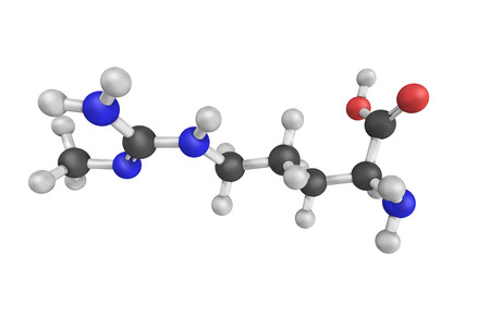 N-Methylarginine, an inhibitor of nitric oxide synthase. It is used as a biochemical tool in the study of physiological role of nitric oxide.