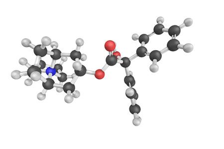 sistema nervioso central: El cloruro de trospio, utilizado para tratar la vejiga hiperactiva. Que no causa efectos secundarios en el sistema nervioso central como otros medicamentos de la misma clase. Foto de archivo