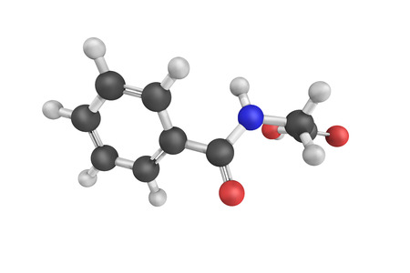 ácido: Hippuric acid, a carboxylic acid found in the urine of horses and other herbivores.