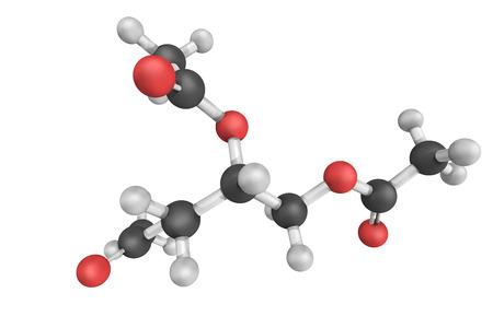 トリアセチン、グリセロールとアセチル化剤、酢酸、無水酢酸などのブチリル基。無色、粘性、無臭の液体です。