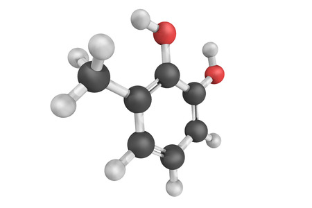 Dihydroxytoluene, a chemical compound also known as 3-Methylcatechol, a solid which belongs to the catechols.