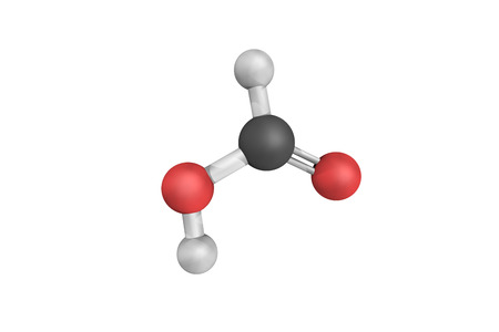 Formic acid, an important intermediate in chemical synthesis which occurs naturally, most notably in some ants.