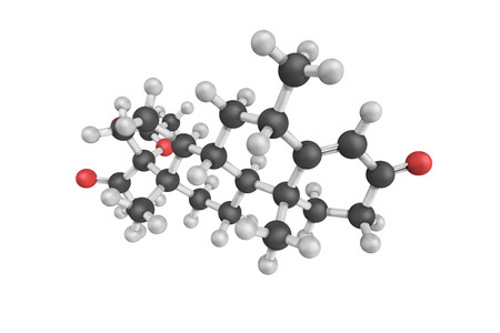 Medroxyprogesterone acetate, used as birth control and as part of hormone replacement therapy for menopausal symptoms, is a manufactured hormone of the progestin type.