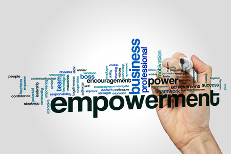 Empowerment word cloud concept