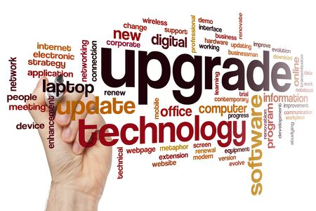 Upgrade word cloud concept