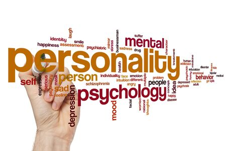 Personality word cloud concept 写真素材