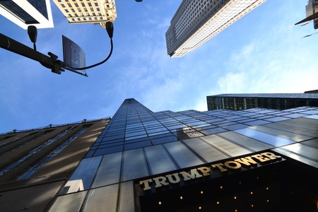 trump tower in New York Editorial