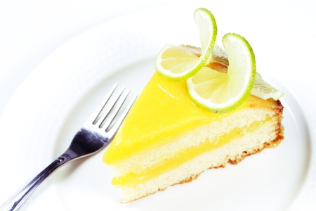 Biscuit cake with lemon Kurdish  Stock Photo - 16849665