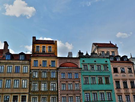 stare miasto: Warsaw old city also called in polish Stare Miasto