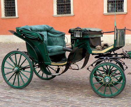 stare miasto: Vintage horsecart in Stare Miasto Warsaw