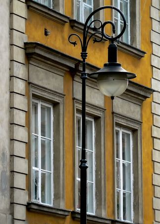 stare miasto: Closeup of a street in the old city of Warsaw