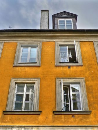 stare miasto: Residential building in the old city of Warsaw