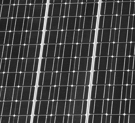 dark solar panel closeup Stock Photo - 5508406