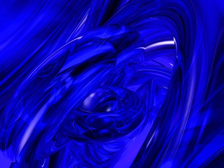 futurist: Computer generated blue abstract background Stock Photo