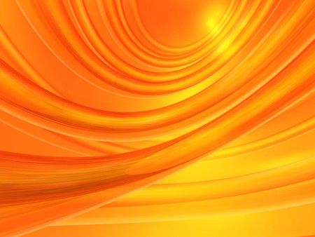 Computer generated orange abstract background photo
