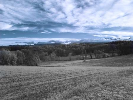 Infrared landscape Stock Photo - 8370497