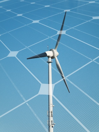 Sustainable energy concept Stock Photo - 9398244