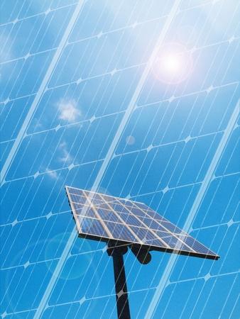 Solar panel Stock Photo - 9398258
