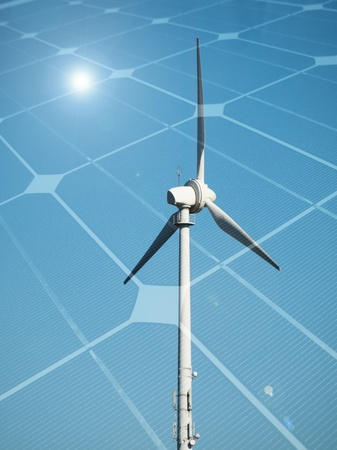 Sustainable energy concept Stock Photo - 9410950