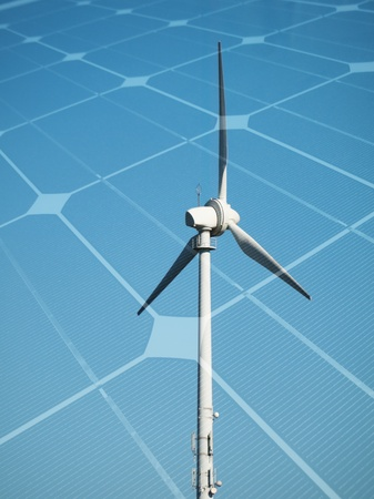 Sustainable energy concept Stock Photo - 9417504
